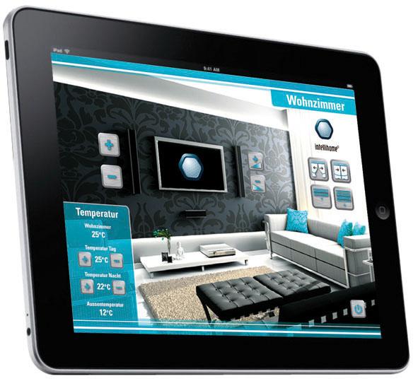 zahlreiche apple fans berzeugten wir mit unseren neuen iphone applikationen dank intellihome. Black Bedroom Furniture Sets. Home Design Ideas